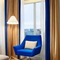Отель Hilton Stockholm Slussen Швеция, Стокгольм - 9 отзывов об отеле, цены и фото номеров - забронировать отель Hilton Stockholm Slussen онлайн балкон