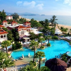 Отель Centara Grand Beach Resort Phuket Таиланд, Карон-Бич - 5 отзывов об отеле, цены и фото номеров - забронировать отель Centara Grand Beach Resort Phuket онлайн бассейн