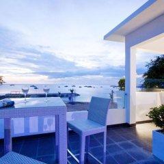 Отель Villa 7th Heaven Beach Front На Чом Тхиан гостиничный бар