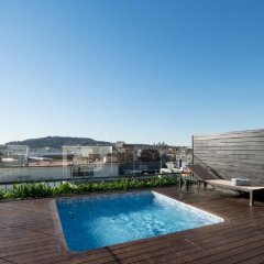 Отель Catalonia Ramblas бассейн фото 3