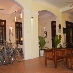 Отель Orchids Homestay Хойан спортивное сооружение