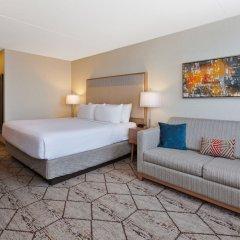 Crowne Plaza Hotel Columbus North Колумбус комната для гостей фото 5