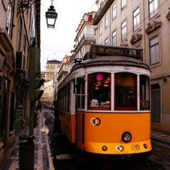 Go Hostel Lisbon Лиссабон городской автобус