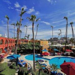 Отель Mar de Cortez Мексика, Кабо-Сан-Лукас - отзывы, цены и фото номеров - забронировать отель Mar de Cortez онлайн бассейн фото 3