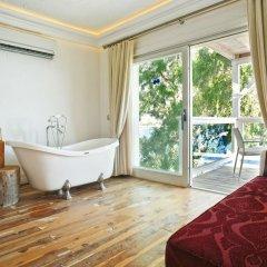 Likya Gardens Hotel Турция, Калкан - отзывы, цены и фото номеров - забронировать отель Likya Gardens Hotel онлайн ванная фото 2