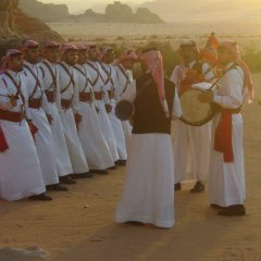 Отель Jabal Rum Camp