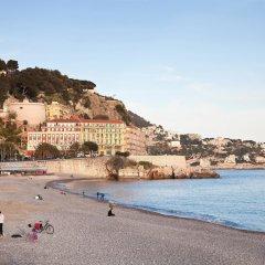 Отель Mercure Nice Promenade Des Anglais пляж фото 3