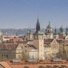 Апартаменты Old Story Apartment Прага приотельная территория