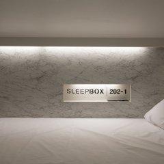Отель Sleepbox Sukhumvit 22 Бангкок сауна