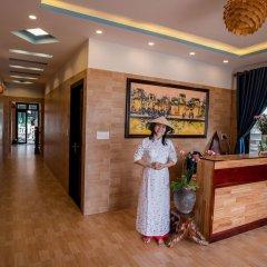 Отель Minh An Riverside Villa интерьер отеля фото 2