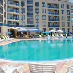 Отель Апарт Отель Рейнбол Болгария, Солнечный берег - отзывы, цены и фото номеров - забронировать отель Апарт Отель Рейнбол онлайн бассейн
