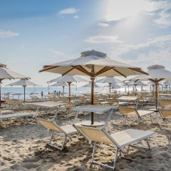 Отель Maestrale Италия, Риччоне - 2 отзыва об отеле, цены и фото номеров - забронировать отель Maestrale онлайн пляж фото 2