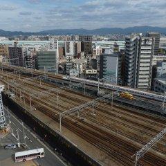 Отель Nishitetsu Croom Hakata Хаката балкон