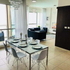 Отель Ultimate Stay 4BR Burj Khalifa view в номере