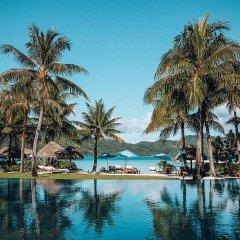 Отель Four Seasons Resort Bora Bora бассейн фото 2
