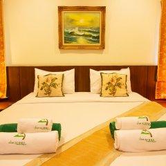 Отель The Green Beach Resort комната для гостей фото 4