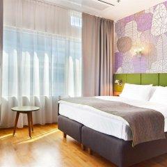Отель Holiday Inn Helsinki City Centre Финляндия, Хельсинки - 12 отзывов об отеле, цены и фото номеров - забронировать отель Holiday Inn Helsinki City Centre онлайн комната для гостей фото 2