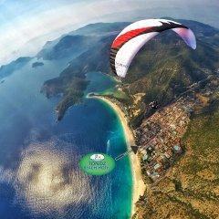 Tonoz Beach Турция, Олудениз - 2 отзыва об отеле, цены и фото номеров - забронировать отель Tonoz Beach онлайн спортивное сооружение