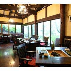 Отель Ryokan Aso no Shiki Минамиогуни питание
