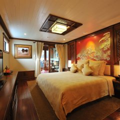 Отель Paradise Peak Cruise Халонг комната для гостей