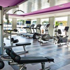 Отель Riu Playacar Плая-дель-Кармен фитнесс-зал