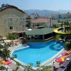 Maxwell Holiday Club Hotel Мармарис бассейн фото 2