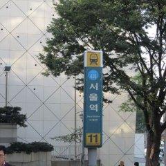 Отель K-POP GUESTHOUSE Seoul Station спортивное сооружение фото 2