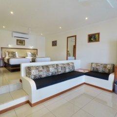 Отель Volivoli Beach Resort Фиджи, Вити-Леву - отзывы, цены и фото номеров - забронировать отель Volivoli Beach Resort онлайн комната для гостей фото 5