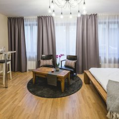 Отель Bearsleys Blacksmith Apartments Латвия, Рига - отзывы, цены и фото номеров - забронировать отель Bearsleys Blacksmith Apartments онлайн комната для гостей фото 5