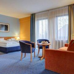 Отель Centro Park Berlin Neukolln Берлин комната для гостей фото 3