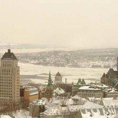 Отель Hilton Québec Канада, Квебек - отзывы, цены и фото номеров - забронировать отель Hilton Québec онлайн приотельная территория фото 2