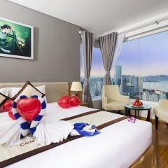 Апартаменты Dendro Gold Apartment Нячанг комната для гостей фото 4
