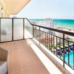 Отель THB El Cid - Adults Only Испания, Кан Пастилья - 3 отзыва об отеле, цены и фото номеров - забронировать отель THB El Cid - Adults Only онлайн балкон