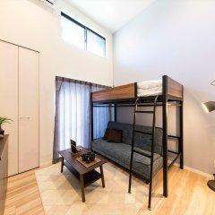Отель Tateru Bnb Minoshima A Хаката комната для гостей