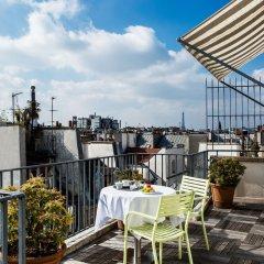 Отель Parc Saint Severin Париж балкон