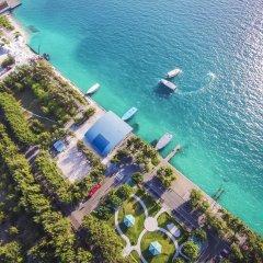 Отель Koamas Lodge пляж