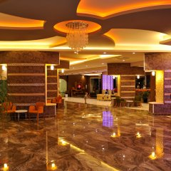 Asrin Beach Hotel Турция, Аланья - отзывы, цены и фото номеров - забронировать отель Asrin Beach Hotel - All Inclusive онлайн интерьер отеля