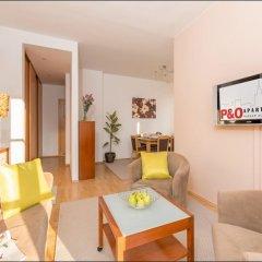 Отель P&O Apartments Marszalkowska Польша, Варшава - отзывы, цены и фото номеров - забронировать отель P&O Apartments Marszalkowska онлайн комната для гостей фото 3