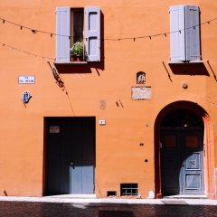 Отель Corte dell'Aposa Италия, Болонья - отзывы, цены и фото номеров - забронировать отель Corte dell'Aposa онлайн вид на фасад