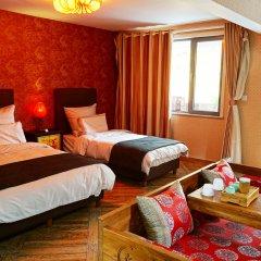 Отель Garden Inn Beijing Китай, Пекин - отзывы, цены и фото номеров - забронировать отель Garden Inn Beijing онлайн комната для гостей фото 3
