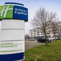 Отель Holiday Inn Express Cologne Mulheim Кёльн городской автобус