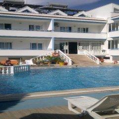Huner Apartments Турция, Мармарис - 1 отзыв об отеле, цены и фото номеров - забронировать отель Huner Apartments онлайн бассейн фото 3