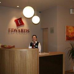 Отель Edvards Латвия, Рига - 2 отзыва об отеле, цены и фото номеров - забронировать отель Edvards онлайн интерьер отеля фото 3