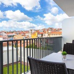 Отель Fenicius Charme Hotel Португалия, Лиссабон - 1 отзыв об отеле, цены и фото номеров - забронировать отель Fenicius Charme Hotel онлайн балкон