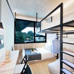 Отель lyf Funan Singapore by Ascott Сингапур комната для гостей фото 5
