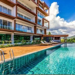 Отель Q Residence пляж Ката бассейн фото 2