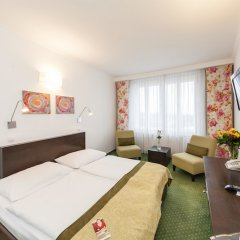 Novum Hotel Vitkov комната для гостей фото 11