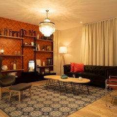 Qualys Le Londres Hotel Et Appartments Сомюр интерьер отеля фото 3