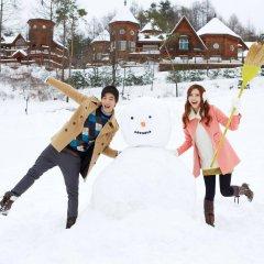 Отель Elf Pension Южная Корея, Пхёнчан - отзывы, цены и фото номеров - забронировать отель Elf Pension онлайн спортивное сооружение