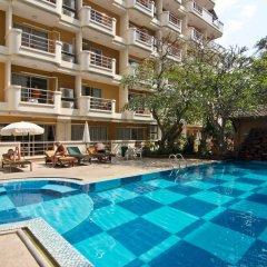 Отель Bella Villa Prima Hotel Таиланд, Паттайя - отзывы, цены и фото номеров - забронировать отель Bella Villa Prima Hotel онлайн бассейн фото 3